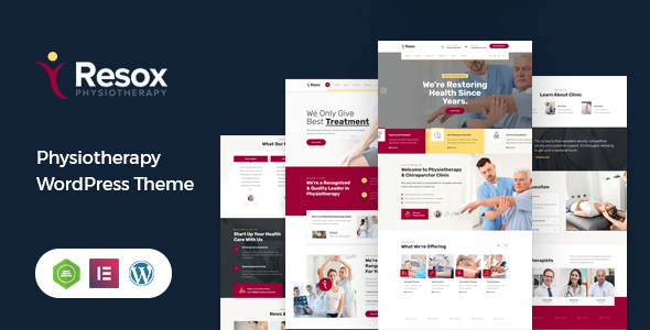 Resox - Physiotherapy WordPress Theme