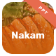 Nakam - Food & Restaurant Power Point - GraphicRiver Item for Sale