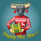 Bull vector illustration - GraphicRiver Item for Sale