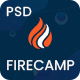 Firecamp - Education PSD Template - ThemeForest Item for Sale