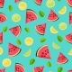 Seamless Pattern with Watermelon - GraphicRiver Item for Sale