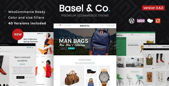 Basel – Responsive eCommerce Theme, Gobase64