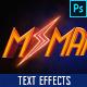 Superhero Cinematic Text Effect vol. 2 - GraphicRiver Item for Sale