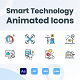 Animated Smart Technology Icons (GIF, Lottie, AEP, MP4) - VideoHive Item for Sale