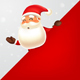 Santa Claus with Red Signboard - GraphicRiver Item for Sale