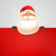 Santa Claus with Signboard - GraphicRiver Item for Sale
