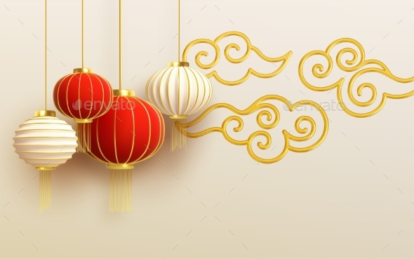 Chinese New Year Design Template