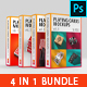 Playing Cards Mockup 4 in 1 Bundle - GraphicRiver Item for Sale