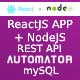 NodeJS REST API + ReactJS Admin Panel Generator from MySQL + JWT + Postman Json - CodeCanyon Item for Sale