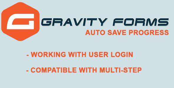Gravity Forms Auto Save Progress