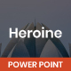 Heroine Business PowerPoint - GraphicRiver Item for Sale