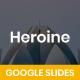 Heroine Business Google Slides - GraphicRiver Item for Sale