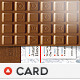 Chocolate Business Card - GraphicRiver Item for Sale