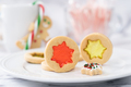 Christmas butter stained glass window cookies - PhotoDune Item for Sale