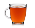 Transparent cup of tea isolated on white background. - PhotoDune Item for Sale