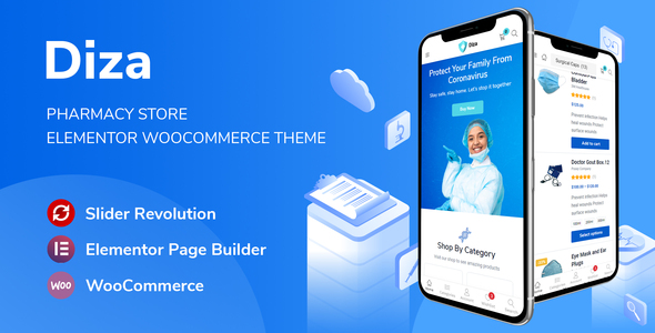 Review: Diza - Pharmacy Store Elementor WooCommerce Theme free download Review: Diza - Pharmacy Store Elementor WooCommerce Theme nulled Review: Diza - Pharmacy Store Elementor WooCommerce Theme