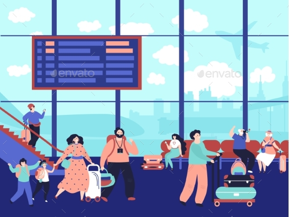 People Airport Terminal