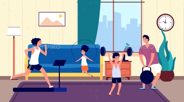 Family Home Workout