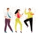 Friendly Dance Party - GraphicRiver Item for Sale