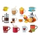 Warm Drinks - GraphicRiver Item for Sale