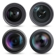 Optical Lens Realistic - GraphicRiver Item for Sale
