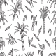 Sugar Plant Seamless Pattern - GraphicRiver Item for Sale