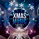Xmas Music Festival Photoshop Flyer Template - GraphicRiver Item for Sale