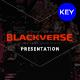 Blackverse Keynote Template - GraphicRiver Item for Sale