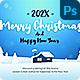 Christmas Greetings Social Media Banner - GraphicRiver Item for Sale