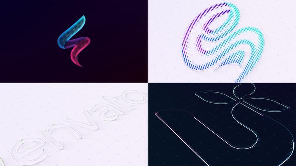 Trendy Simple Logo Reveal