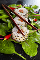Seafood sushi and green salad - PhotoDune Item for Sale