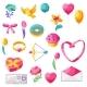 Happy Valentine Day Set - GraphicRiver Item for Sale
