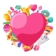 Happy Valentine Day Greeting Card - GraphicRiver Item for Sale