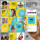 Puro - Social Media Instagram Puzzle Feed - GraphicRiver Item for Sale