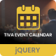 Tiva Events Calendar For jQuery - CodeCanyon Item for Sale