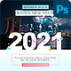New Year Greetings Social Media Post - GraphicRiver Item for Sale