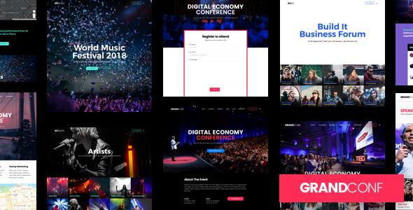 Grand Conference | Event WordPress