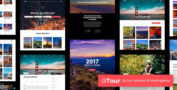 Grand Tour | Travel Agency WordPress