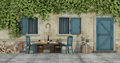 Courtyard of an old country house - PhotoDune Item for Sale
