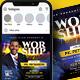 Worship Flyer & Social Media Post - GraphicRiver Item for Sale