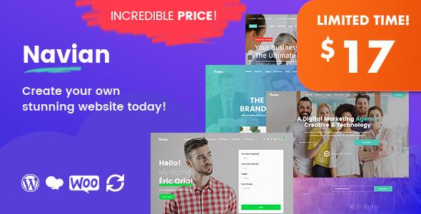 Navian – Multi-Purpose Responsive WordPress Theme