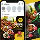 Restaurant Food Social Media Post - GraphicRiver Item for Sale