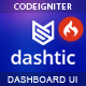 Dashtic - CodeIgniter Admin & Dashboard Template - ThemeForest Item for Sale