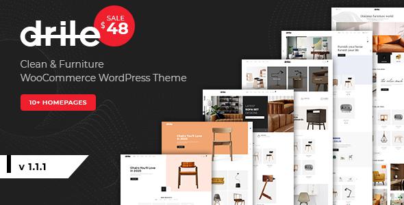 Drile - Furniture WooCommerce WordPress Theme