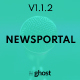 Newsportal - News and Magazine Ghost Blog Theme - ThemeForest Item for Sale