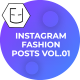 Instagram Fashion Posts Vol.01 - VideoHive Item for Sale