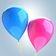 Balloons Isolated 3D Renders - GraphicRiver Item for Sale