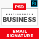 Business Email Signatures - GraphicRiver Item for Sale