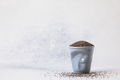 Chia seeds in a cup. Healthy nutrition concept. - PhotoDune Item for Sale