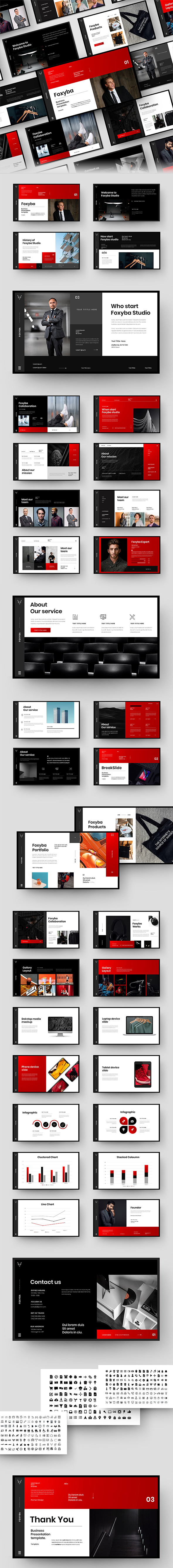 Foxyba – Business PowerPoint Template